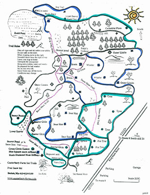 Ski Map - Click to Enlarge